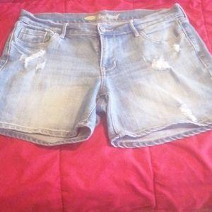 2 for $30 EUC The Boyfriend Jean Shorts